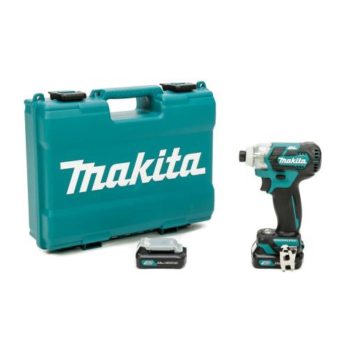 Аккумуляторный ударный гайковёрт Makita TD 111 DWAE   (TD111DWAE)